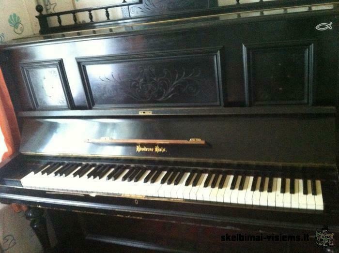 parduodu pianina