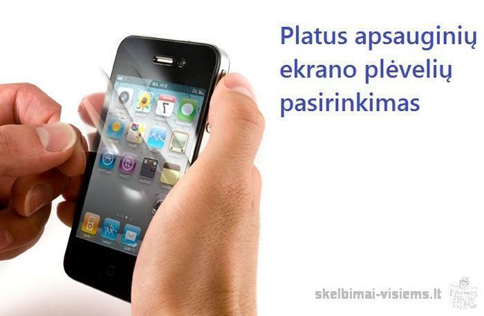 priedai telefonui: ekrano plėvelės/baterijos/pakrovėjai/dėkliukai