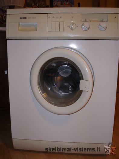 skalbimo mašina BOSCH WFB 1605