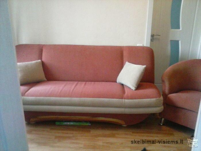 sofa lova - sekcija