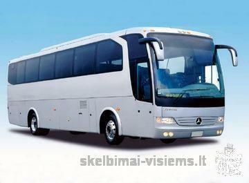 stiklai autobusams gamyba prekyba montavimas