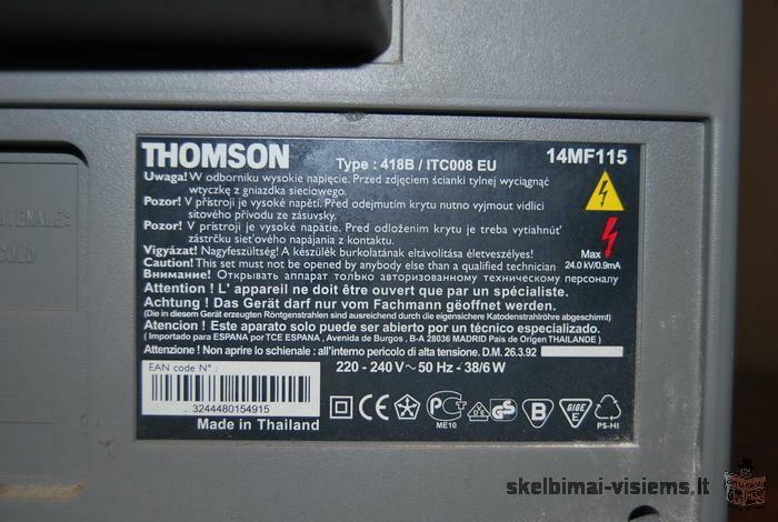 televizorius THOMPSON