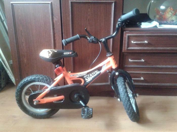 vaikiskas dviratukas